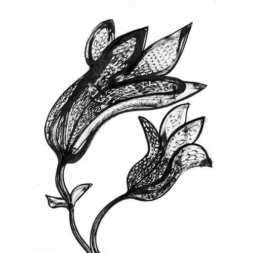 Stor blomst 4 ny