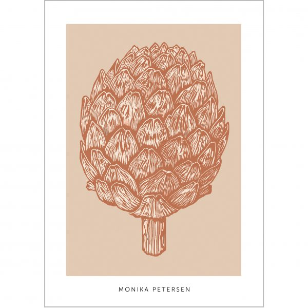 poster artichoke rust 50×70